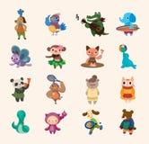 Gullig djur symbol Royaltyfri Foto