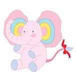 Gullig elefant Arkivbild