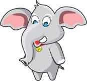 gullig elefant Royaltyfri Fotografi