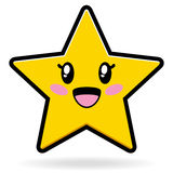 gullig eps-stjärna stock illustrationer
