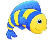 Gullig exotisk fisk Arkivbild
