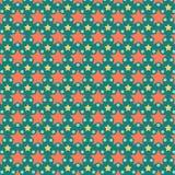 Gullig färgrik stjärnabakgrundsmodell Arkivbilder