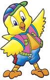 gullig fågelunge Royaltyfri Bild