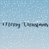 Gullig för hälsningskort för glad jul bakgrund 2019 för vektor stock illustrationer