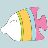 gullig fisk Royaltyfri Bild