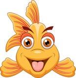 gullig fisk för tecknad film Arkivbild