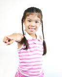 gullig flicka 10 little Royaltyfri Fotografi