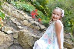 gullig flicka Royaltyfri Bild