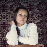 gullig flicka Arkivfoto