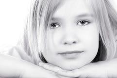 gullig flicka arkivfoton