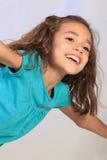 gullig flicka latina Arkivbilder