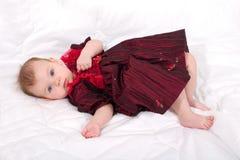 gullig flicka little royaltyfri foto
