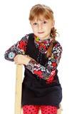 gullig flicka little Arkivfoton