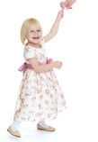 gullig flicka little Royaltyfri Bild