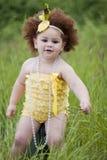 gullig flickalitet barn fotografering för bildbyråer