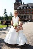 gullig flower-power-folket för barn Royaltyfri Fotografi