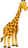 Gullig girafftecknad film Royaltyfri Foto
