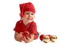 gullig gnome för jul Royaltyfri Bild