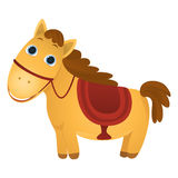 gullig häst Royaltyfri Fotografi