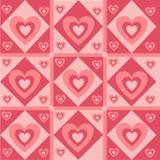 gullig hjärtamodell vektor illustrationer