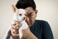 gullig hund arkivbild