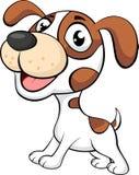 gullig hund för tecknad film Arkivbilder