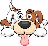 gullig hund för tecknad film Royaltyfria Foton