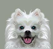 gullig hundvektor Royaltyfria Bilder