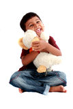 gullig indier för pojke Royaltyfria Foton