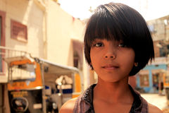 Gullig indisk flicka Royaltyfria Bilder