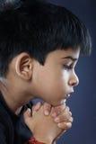 Gullig indisk pojke royaltyfri bild