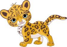 gullig jaguar för gröngöling vektor illustrationer