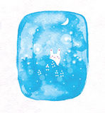 gullig kanin little vektor illustrationer