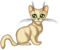 gullig kattunge vektor illustrationer