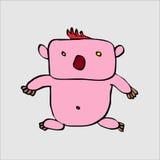 Gullig-koala-tecknad film-vektor Royaltyfri Fotografi
