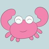 Gullig krabba Royaltyfri Foto