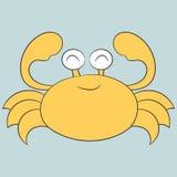 Gullig krabba Royaltyfri Bild