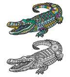gullig krokodil Royaltyfria Foton