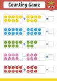 Gullig lek för färg för ungar Stock Illustrationer