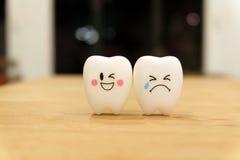 Gullig leksak för tänder royaltyfria foton