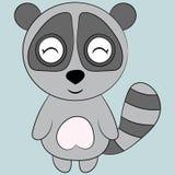Gullig lemur Royaltyfri Bild
