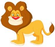gullig lion Arkivbild