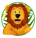 gullig lion Royaltyfria Foton