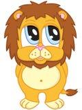 gullig lion Royaltyfri Fotografi