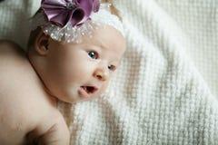 Gullig liten ballerinastående Royaltyfri Foto