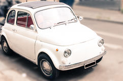 Gullig liten bil Royaltyfri Foto
