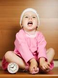 Gullig liten flicka Fotografering för Bildbyråer