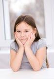 Gullig liten flicka Royaltyfri Fotografi