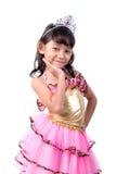gullig liten princess Royaltyfri Fotografi
