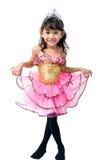 gullig liten princess Royaltyfria Bilder